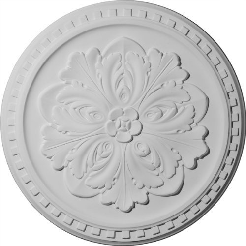 Ekena Millwork CM16ER 16 7/8-Inch OD x 5/8-Inch Emeryville Ceiling Medallion by Ekena Millwork