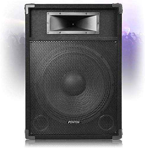 Fenton CSB 15' Active Speaker PA Sound System with Built-in 800w High Power...