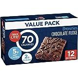 Fiber One 90 Calorie Chocolate Fudge Brownie, 12 ct (Pack of 4)