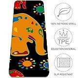 Eslifey - Esterilla de Yoga Antideslizante, diseño de Elefantes y Animales