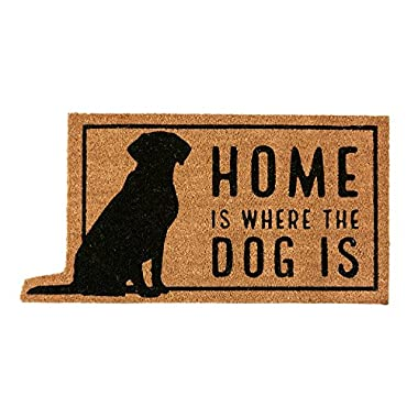 Mud Pie Home Is Where the Dog Is Door Mat
