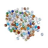 Healifty 100 Pezzi di Perline a Forma di Acquario Accessori di Perle di Melma Croccanti Po...