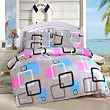 BianchiPatricia 1.8M Bed Supplies Printing Quilt Cover Bed Sheet Pillow CasesCaiyun Court