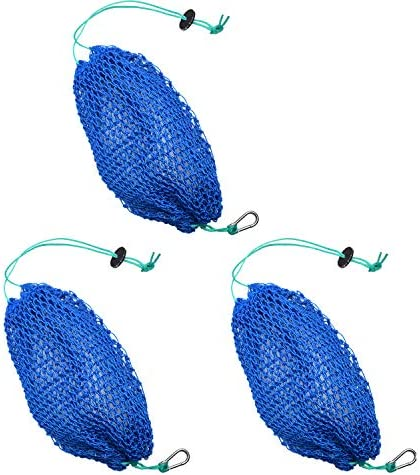 SF Mesh Bait Bags with Rubber Locker for Fishing Crab Traps Catfishing 3 Packs product image