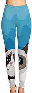 TFUYZX Grumpy Birman Cat with Black Bow Tie Women¡¯s High Waist Workout Printed Yoga Leggings Athletic Tummy Control Running Pants Casual Loose Baggy High Waist Sweatpants