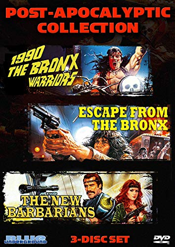 Post-Apocalyptic Collection (1990: The Bronx Warriors / Escape From The Bronx / The New Barbarians)