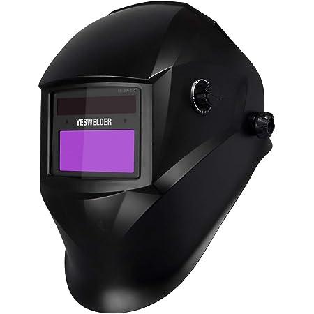 ✧Welding Helmet Mask Auto Darkening Welders Arc Tig Mig Grinding Solar Powered✧
