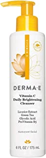 DERMA E Even Tone Cleanser – Skin Restore Cleanser Promotes Skin Glow - Improves Texture & Tone, Non-Drying, Purifying Det...