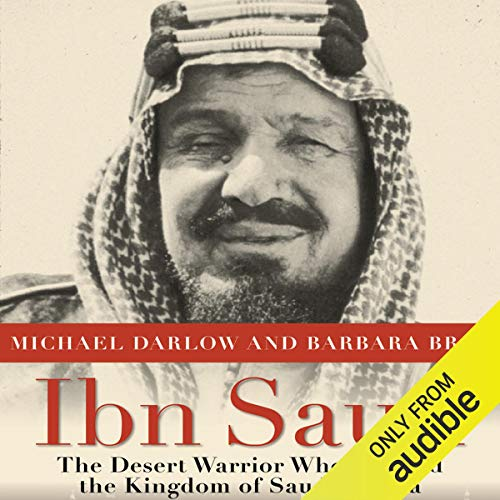 Ibn Saud audiobook cover art