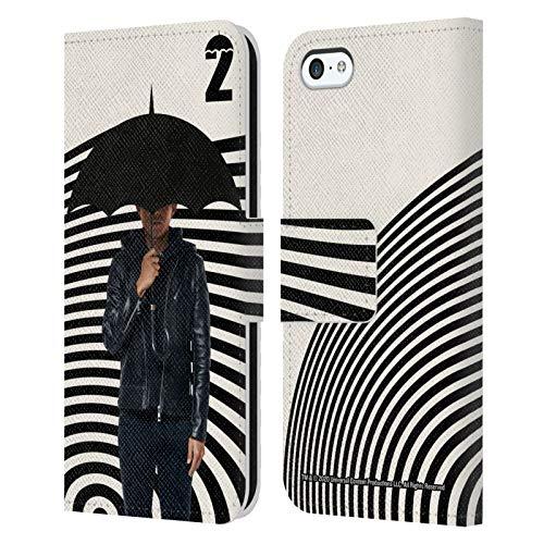 Head Case Designs Offiziell Zugelassen The Umbrella Academy Ben Staffel 2 Darsteller Leder Brieftaschen Handyhülle Hülle Huelle kompatibel mit Apple iPhone 5c