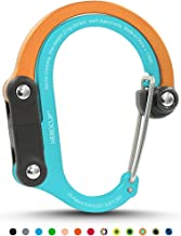 HEROCLIP Carabiner Clip and Hook (Medium)   For Camping, Backpack, and Garage