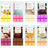 SCENTORINI Scented Wax Melts, Wax Cubes, Scented Soy Wax Melts, Wax Melts for Wax Warmer