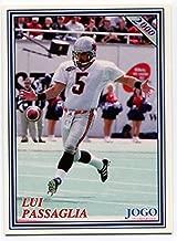 JOGO INC. 2000 Jogo Lui Passaglia Card #144 BC Lions Simon Fraser University