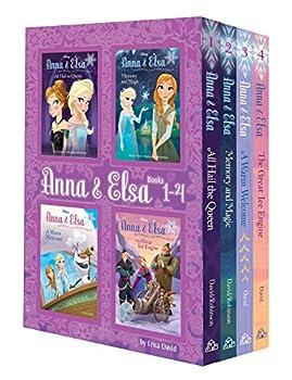 Anna & Elsa  Books 1-4  Disney Frozen   A Stepping Stone Book TM