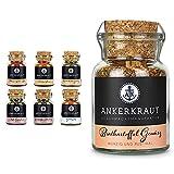 Ankerkraut Grill Set, 6 Gewürze für Männer! & Bratkartoffel Gewürz, 80g im Korkenglas, Gewürzzubereitung für Bratkartoffeln