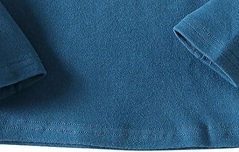 KISBINI Unisex Girls 100/% Cotton Long Sleeve T-Shirt Top Tees