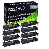 Paquete de 8 cartuchos de impresora compatibles con Lexmark B222H00 de alto rendimiento para impresoras Lexmark B2236DW, MB2236ADW, MB2236ADWE