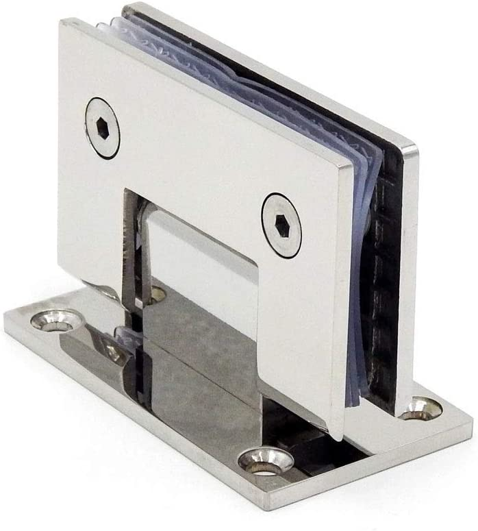 UXZDX Stainless Steel Frameless Glass Door B Degrees of Hinge 90 Popular shop Max 75% OFF is the lowest price challenge