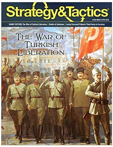 DG: Strategy & Tactics Magazine #309, with War of Turkish Liberation Boardgame