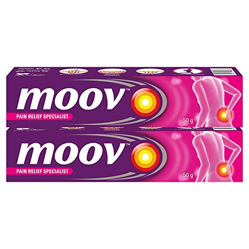 Moov Schnelle Schmerzlinderung Creme 50 G (2 Stück)