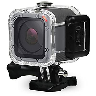 FitStill 60M Dive Housing Case for GoPro Hero 5 Session Waterproof Diving Protective Shell with Bracket Accessories for Go Pro Hero5 Session & Hero Session from FitStill