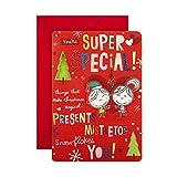 Tarjeta de Navidad para alguien especial