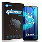 Aerku für Motorola Moto G8 Power Lite Panzerglas,9H Festigkeit HD Schutzfolie Anti-Kratzer Ultra Glatte Film Bildschirmschutzfolie Blasenfreie Panzerglasfolie für Moto G8 Power Lite [2Stück]-Transparent