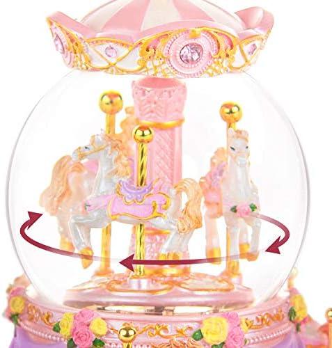 Carousel snow globe _image1