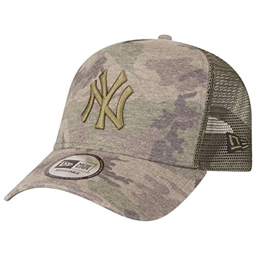 New Era A-Frame Trucker Cap - New York Yankees Wood camo