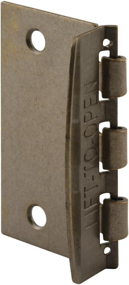 Prime-Line Products U 9887 Flip Action Door Lock Brass Plated