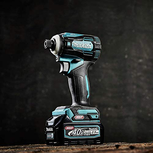 Makita GDT01D 40V Max XGT Brushless Lithium-Ion Cordless 4-Speed Impact Driver Kit (2.5 Ah)