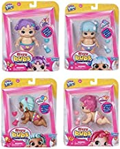 Little Live Bizzy Bubs 4 Pack (Primmy, Poppy, Polly Petals, Snowbeam) - Interactive Baby Doll