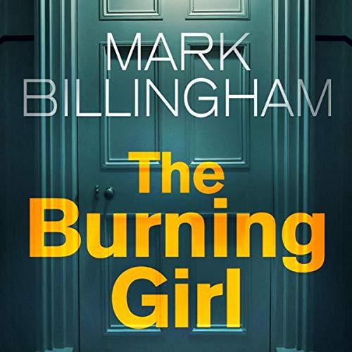 The Burning Girl audiobook cover art