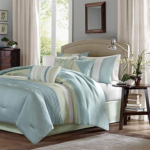 Madison Park MP10-846 Carter 7 Piece Comforter Set,