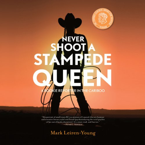 Never Shoot a Stampede Queen audiobook cover art