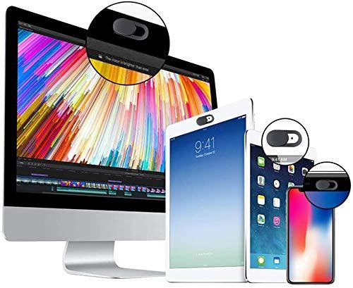 lululeague Webcam Abdeckung, Cover Kamera Laptop, 0.027 Ultra dünne Web Kamera Abdeckung für Computer Laptop, MacBook Pro, Smartphone, PC, Handyzubehör -Schutz Ihrer Privatsphäre Online (3 Stück)