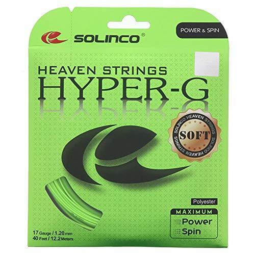 Solinco Hyper-G Weiche Tennissaite (18 grün)