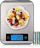 Balance Cuisine ,Sucastle 10kg Balance Numérique Intelligente, Balance Alimentaire,1g Haute Précision Électronique Balance,Balance De Cuisine En Acier Inoxydable,Avec Fonction De Tare