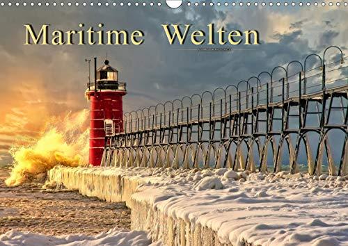 Maritime Welten (Wandkalender 2021 DIN A3 quer)