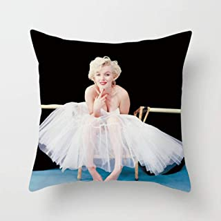 Decorative Cushion Pillow Digital Print Fantasy Bed Sofa Photo Marilyn