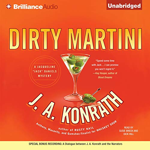 Dirty Martini audiobook cover art