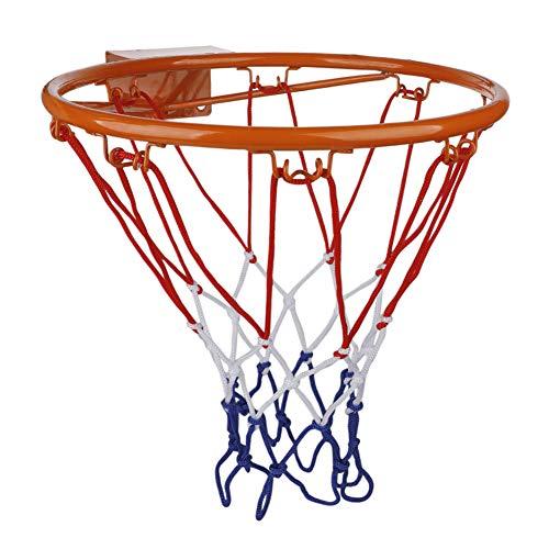 YIPON Basketballkorb, 32 cm Durchmesser, zum Aufhängen, Wandmontage, mit Befestigungsschraube, Kinder-Sport-Spielzeug für drinnen und draußen