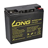 Batería de plomo WP22-12N 22Ah 12V AGM batería equivalente a 17Ah 18Ah 19Ah 20Ah 23Ah Long M6 rosca interior AKKUman Edition
