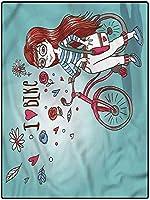 カーペット はっ水加工 大判 ブランケット 100*200 廊下の漫画のランナーの敷物寝室のホームエリアの敷物ベビールームの装飾カーペットバイクの女の子 夏ラグ 通気性 キッチンに適用