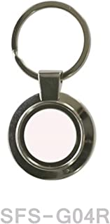 Sublimation Metal Round Keyrings Key Chain Dye Blank Products 12pcs Heat Press