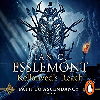 Kellanved's Reach     Path to Ascendancy, Book 3              Written by:                                                                                                                                 Ian C Esslemont                               Narrated by:                                                                                                                                 John Banks                      Length: 13 hrs and 7 mins     15 ratings     Overall 4.9