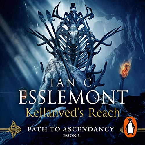 Kellanved's Reach audiobook cover art