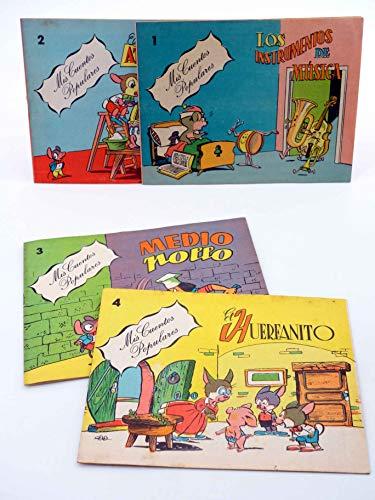 MIS CUENTOS POPULARES 1 2 3 4. Colección Completa. Valenciana. Oferta