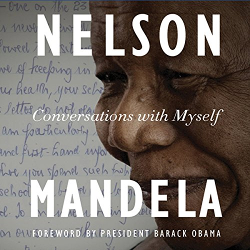 Conversations with Myself audiobook cover art