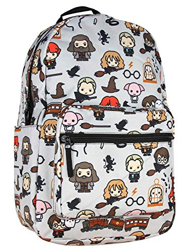 Harry Potter Chibi Characters Art Sublimated Travel School Backpack Bag
